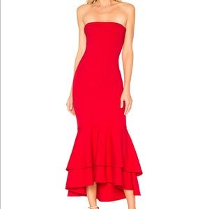 Lovers + Friends Dillion Midi Gown from Revolve